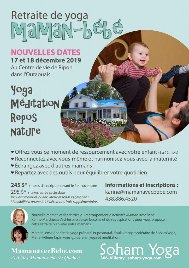Retraite yoga maman-bébé, activité postnatal, Maman avec bébé, soham yoga, activité avec bébé, événement maman-bébé, activités maman-bébé, activités postnatal, maman avec bébé