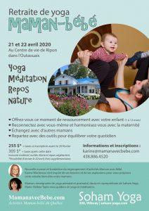 Maman avec Bébé - retraite de yoga - maman-bébé - activités postnatals - activité maman bébé - yoga maman-bébé - méditation maman-bébé - super maman